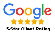 Google 5-Star Client Rating